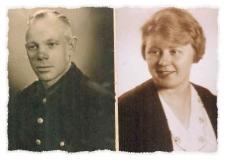 1926 Anton Markötter gnt. Hauge (1901 - 1957) und Maria Nathmann verh. Hesselmann (1903 - 1958)
