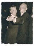 1949 Bernhard Pohlmann (1902 - 1970) und Elisabeth Pohlmann geb. Boes (1905 -1970)  Hofstaat: Albert und Hedwig Schründer, Felix und Antonia Große Lembeck.