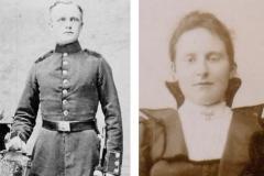 1902 Johann Wiegert (1875 - 1936) und Theresia Wiegert geb. Wermeling (1871 - 1954)