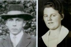 1925 Heinrich Sternberg (*1901) und Elisabeth Wiegert verh. Nosthoff (1904 - 1991)