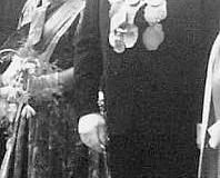 1960 Josef Peters (1911 - 1993) und Maria Peters geb. Baumkötter (1915 - 2005)  Hofstaat: Josef und Maria Schulze Topphoff, Bernhard und Maria Hülsmann.