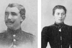 1909 Johann Terbonsen (1880 - gefallen 1941) und Elisabeth Beiing (1879 - 1953), später verh. Terbonsen