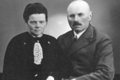 1920 Cornelius Schulze Topphoff (1886 - 1966) und Maria Schulze Topphoff geb. Schulze Hobeling (1886 - 1937)