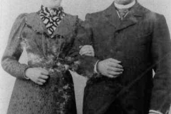 1923 Johann Wiegert (1875 - 1936) und Theresia Wiegert geb. Wermeling (1871 - 1954)