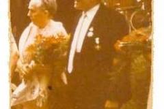 1970 Heinrich Krieter (1897 - 1973) und Agnes Kolkmeier geb. Glasmeyer  Hofstaat: Johannes und Elisabeth Frank, Ewald und Elisabeth Kortenjan.  (Königspaar Krieter/ Kolkmeier wurde nach 1919 zum 2. Mal Königspaar)
