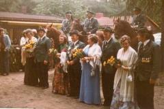 1976 Bernhard Sommer und Maria Sommer geb. Lind  Hofstaat: Anton und Ellen Sielenkemper, Ewald und Elisabeth Kortenjan.